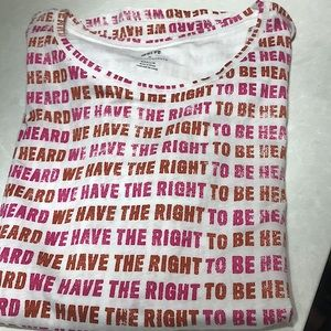 COPY - New Anthropologie Right To Be Heard Graphi…